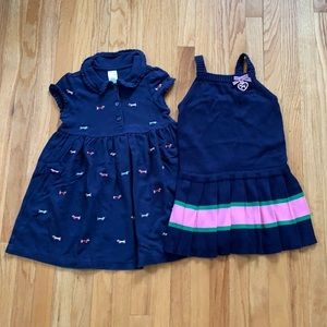 Gymboree Prep School 2 Dress Bundle